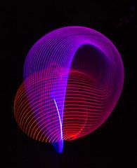 Week 26 Technical:Light Painting (arlene sopranzetti) Tags: dogwood2017 dogwood2017week26 night light painting led hula hoop edm electronic dance music aurora solar flares moodhoops northern lights