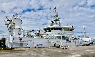 Quantus PD379 Fishing Vessel Peterhead Harbour Scotland 2017