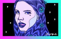 New trending GIF on Giphy (I AM THE VIDEOGRAPHER) Tags: ifttt giphy love space star drawing queen stars lana del rey alien portrait digital art first young galaxy firework wish wishes fan gif illustration isaac piper back 1974 puppy backto1974 isaacpiper