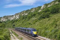 395005 Folkestone Warren 23/06/2017 (Waddo's World of Railways) Tags: 005 395 395005 class395 southeasterntrains javelin southeasternrailway folkestonewarren whitecliffs kent
