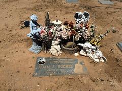 Adam (Midnight Believer) Tags: pimacountycemetery graveyard death headstone tombstone gravestone americansouthwest pimacounty tucsonarizona