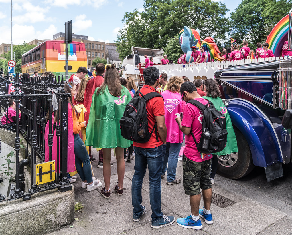 LGBTQ+ PRIDE PARADE 2017 [STEPHENS GREEN BEFORE THE ACTUAL PARADE]-129958