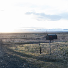 Islande #73 (The smiling monkey) Tags: mailbox iceland