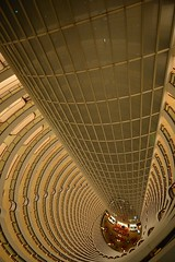 Shanghai - Grand Hyatt Lobby, Jin Mao Tower (cnmark) Tags: china shanghai pudong lujiazui grand hyatt hotel jin mao grandhyattshanghai century avenue world famous lobby atrium futuristic modern interior architecture skyscraper tall tallest building buildings tower wideangle wolkenkratzer gratteciel grattacielo rascacielo arranhacéu geo:lat=31237022 geo:lon=121501514 geotagged 中国 上海 浦东 陆家嘴 世纪大道 世纪大道88号 金茂大厦 金茂 酒店 君悦大酒店 上海金茂君悦大酒店 大厅 摩天大楼 ©allrightsreserved