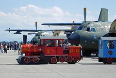 Tag der Bundeswehr + 60 Jahre LTG61 (gooneybird29) Tags: flugzeug flughafen aircraft airport airplane airline airbase etsa penzing ltg61 tagderbundeswehr luftwaffe transall c160 train lilly