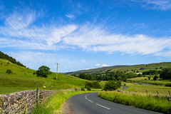 Open road ! Open contryside ! hard to beat ! - June 2017 (I.T.P.) Tags: landscape yorkshire open road country side
