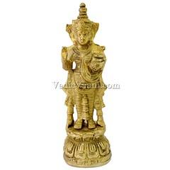 Hindu Goddess Mohini Idol   VedicVaani.com (vedicvaani.com) Tags: online goddess mohini idol hindu devi maa statue brass deity murti sculpture