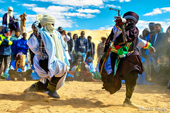 Tuareg Dance ! (Bashar Shglila) Tags: tuareg líbya ghat dance sahara sky shglila camels people traditional tradition sands outfits