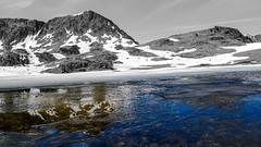 Fontargente under the ice (brikopat) Tags: etangdefontargente montagne lac glace ice snow mountain