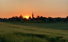 Sonnenaufgang (blichb) Tags: blichb 2017 iphone iphoneografie sonnenaufgang deutschland bayern stephanskirchen kirchturm iphone7 iphoneography