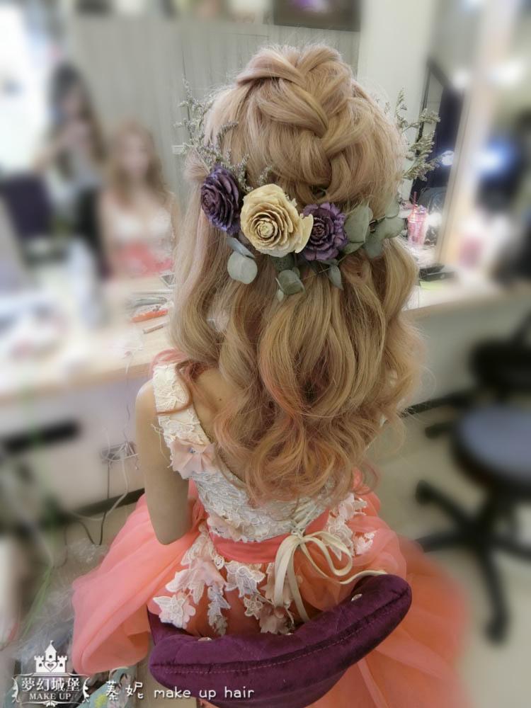 【新秘蓁妮】新娘造型創作 / 日系公主頭
