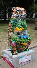 Jenny Jungle (ahisgett) Tags: birmingham children's hospital charity wild art big sleuth 2017 bearmingham bear