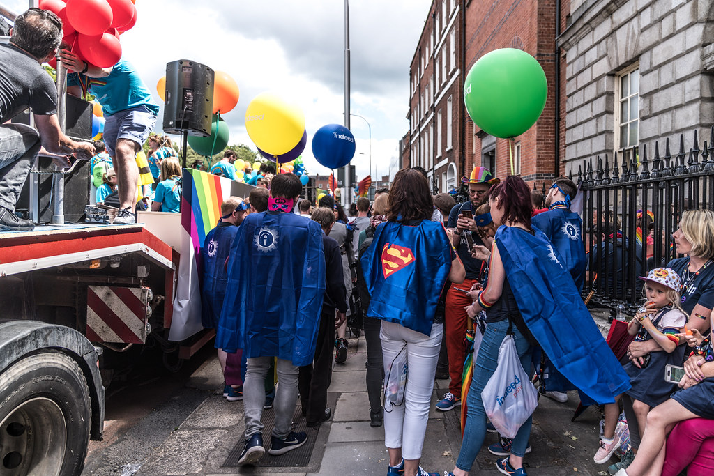 LGBTQ+ PRIDE PARADE 2017 [STEPHENS GREEN BEFORE THE ACTUAL PARADE]-129803