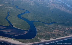 Aerial View - Delta of Rio Lempa River, El Salvador (ssspnnn) Tags: riolempa lempa lempariver delta foz bocana elsalvador canoneos70d snunes nunes spnunes spereiranunes