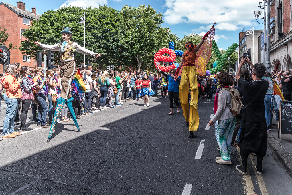 LGBTQ+ PRIDE PARADE 2017 [ON THE WAY FROM STEPHENS GREEN TO SMITHFIELD]-130131