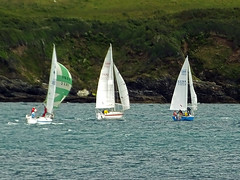 Threesome! (Cornishcarolin. Rest in Peace Mum xxx) Tags: cornwall falmouth pendennispoint stmawes boats yachts water