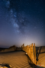 Punta Paloma, Tarifa. (Antonio Camelo) Tags: nikon night noche playa photo beach sky sand arena via lactea milky way