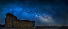 Via Láctea y Monasterio Tentudía. (jsanchezq65) Tags: vialactea milkyway tentudia extremadura españa spain astrophotography atronomy star sky nignt nightscape