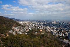 Premier rayon de soleil sur Kobe (StephanExposE) Tags: japon japan asia asie stephanexpose kobe nunobikiherbgarden garden jardin ropeway ville city canon 600d 1635mm 1635mmf28liiusm