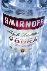 Vodka Smirnoff (Carlos M.C.) Tags: vodka smirnoff drink alcohol iceblue cold