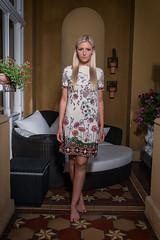 Zocher Fashionshoot (karlhans) Tags: zocher michelle ivko dress villa austria fashion fashionphotography fashionshoot blond model upper class classy trendy