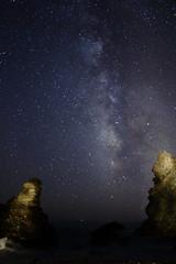 00000011 (F.J.Lima) Tags: via lactea maro nerja malaga aire libre mar noche nocturna