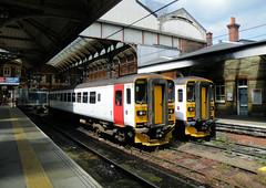 Doxboxes (R~P~M) Tags: train railway dmu multipleunit sprinter 153 abelliogreateranglia norwich norfolk england uk unitedkingdom greatbritain
