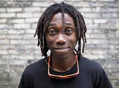 Brian (jeffcbowen) Tags: brian street stranger toronto jamaica dreadlocks thehumanfamily