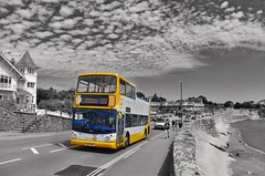 Every Cloud Has a Golden Lining (Better Living Through Chemistry37) Tags: route122 stagecoach stagecoachdevon stagecoachsouthwest wa05mhf 18306 gary buses busessouthwest transport transportation vehicles vehicle psv publictransport livermead hop122 dennis dennistrident alx400 alexander monochrome blackwhite