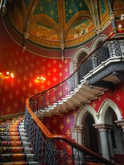 Renaissance (JadeAstraPhotography) Tags: architecture photographer picture photo photography iphone canon london stpancras renaissance hotel red staircase stairs