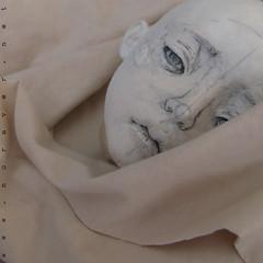 art-doll in progress (nora ver) Tags: artdoll wip workinprogress sketchdoll handmade clothdoll clothbody airdryclay textile skin flesh freshstart newproject noraver natural fabricdye