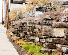 Grand Ledge (joeldinda) Tags: wall downtown sidewalk michigan eatoncounty grandledge sky 3119 may street building backside 2016 nikon 1v2 v2 nikon1v2