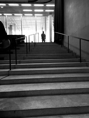 I'll be waiting (santoscinderella) Tags: light details design architecture who creepy there waiting noface up iphone anonymous mysterious beautiful photography shot miami curtains high stairs grey blackandwhite dark room mystery person art museum