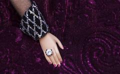 velvet (verona39) Tags: macro mondays texture barbie doll velvet purple hand elegant classy luxury