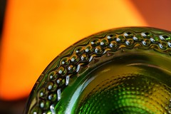 Get to the Bottom... (M. Carpentier) Tags: macromondays bottomsup winebottle bottom fonddebouteille bouteillesdevin bouteilledevin vert green verre glass glassbottom abstract