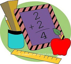 Math-clipart-free-clipart-images-5 (scienceandtechnologysu) Tags: math mathematics numbers school education ruler apple