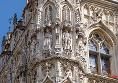 City Hall visit, Leuven, Belgium (alh1) Tags: grotemarkt stadhuis townhall belgium flanders leuven louvain holiday