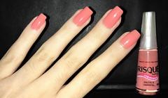 Anota a Simpatia - Risqué (caumt) Tags: esmalte esmaltes risqué laranja coral anota simpatia