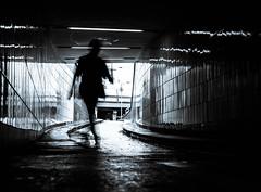 Man from the Light (Blackbossa) Tags: black white blackandwhite whiteandblack surreal sun intothesun man guy streetlife streetphotography streetscene strangelook stranger streetart blueshades bluetouch pupils hamburg germany steinstrase shadow street