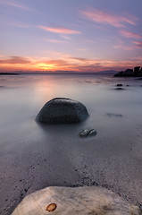 My Morning Glory (SeanManchip) Tags: landscape seascape longexposure sunrise dawn ocean water sea sand rocks beach travel nature nd10stop colourfulsky clouds southafrica capetown simonstown