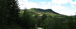 A walk to Hol Stasjon, view on Kvisla