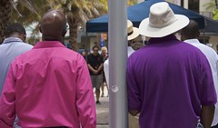 Division |  Between two men (LarryJay99 ) Tags: attractive backs baldhead blackmen candid city cityhallsquare democracy equality face faces florida freedom gathering gay guy guys hairy handsome hat hunks male man men nape people pride pulse shoulders street streetportrait unsuspecting urban urbandemocracy urbanite westpalmbeach usa