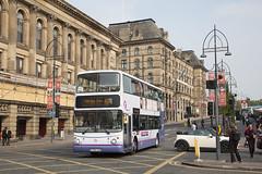 YOR_075 (Stuart's Transport) Tags: bus yorkshire doubledeck first bradford 675 firstbradford volvob7tl alexanderalx400 30909 x764vua