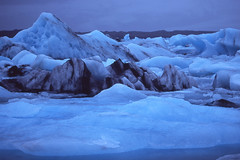 frozen (Andy Kennelly) Tags: iceland winter slide film 35mm velvia cold glacier lagoon jokulsarlon february