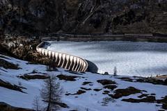 Lago di Fedaia (benzofoto) Tags: lake fedaia mountain marmolata marmolada damm stausee nature south tyrol dam frozen