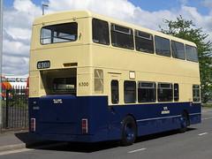 West Midlands PTE 6300 Foden NC ROC300R - rear (FF3170) Tags: liverpool merseyside kirkby nwvrt gardner 6lxb allison mt640