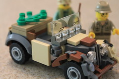 (Old) WIP... Thoughts? (pvt. eugene krabs) Tags: ww2 lego moc wip pacific japanese vehicle type 95 kurogane