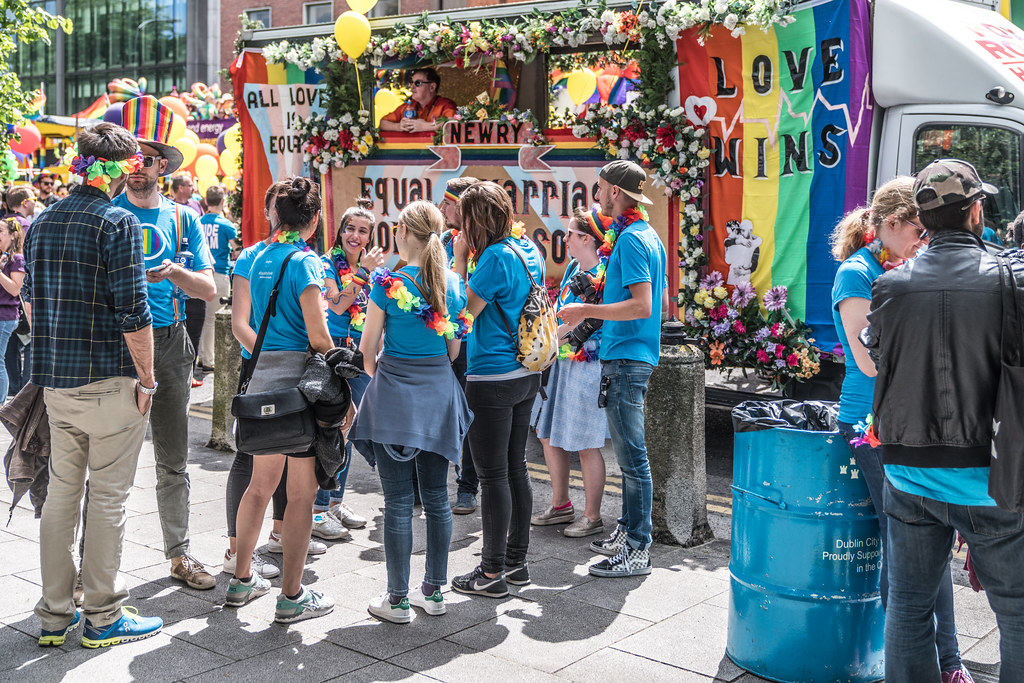 LGBTQ+ PRIDE PARADE 2017 [STEPHENS GREEN BEFORE THE ACTUAL PARADE]-129824