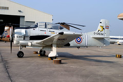 RThaiAF_T28D_JF139613_13534_003 (PvG - Aviation Photography) Tags: aviation aircraft military thailand rthaaf