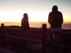 Haleakala sunset, Maui, Hawaii (dan tsai) Tags: olympusomdem5 volcano omd em5 observatory maui nature hawaii haleakala olympus silhouette landscape olympusmzuikodigitaled1240mmf28pro